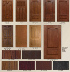 Fiberglass Woodgrain & Stained Doors
