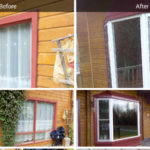 Before and after new window install