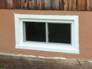 Basement Window installation